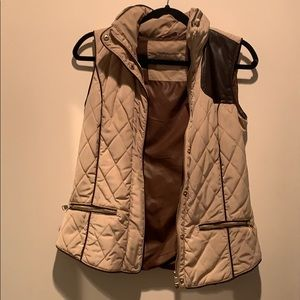 Zara Hooded ZIP Vest